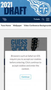 Tennessee Titans – Guess The Pick Contest Presented By Gibson Brands – Win Gibson J-45 Standard Guitar