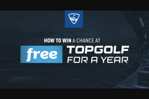 Topgolf – Free Topgolf For A Year And The Ultimate Baller Package Sweepstakes