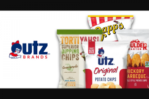 Utz Quality Foods – Blow Out The Candles Sweepstakes