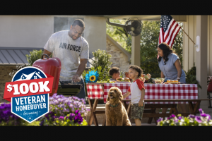 Veterans United Home Loans And Realtorcom – Stars Stripes And Summer $100k Veteran Homebuyer Giveaway Sweepstakes