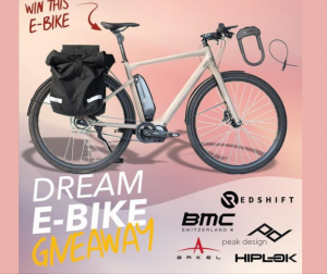 Redshift Sports – Win an E-Bike valued at $5,000