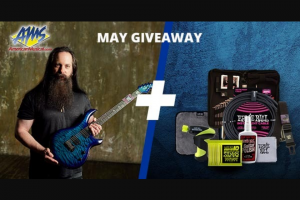American Musical Supply – Ernie Ball John Petrucci Giveaway Sweepstakes