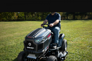 Bob Vila – $3000 Riding Mower And More Giveaway – Win consists of one Rider 13APA9BT066 Super Bronco 46 XP $ 1999.