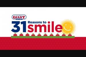 California Giant Berry – 31 Reasons To Smile Sweepstakes