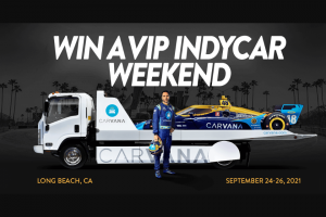Carvana – Racing – Win otherwise).  destination or a Sponsor-specified travel stipend and will not receive additional compensation of any kind in conjunction with such prize substitution