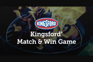Clorox Kingsford – Match & Win Game Sweepstakes