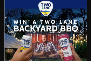 Constellation Brands – Two Lane Summer 2021 Sweepstakes