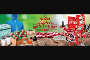 Firedisc – Sweet As A Peach Mother's Day – Win Ultimate Backyard Bundle Hopper Flip