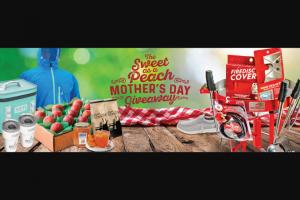 Firedisc – Sweet As A Peach Mother's Day – Win Ultimate Backyard Bundle Hopper Flip