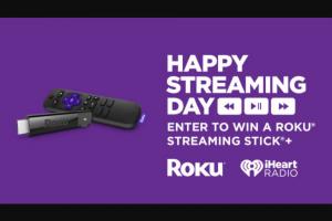 Iheart – Roku Streaming Stick – Win one Roku Streaming Stick