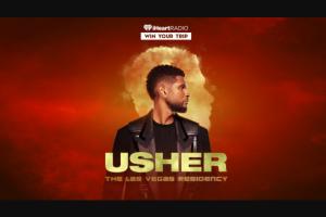 Iheart – Usher Las Vegas Flyaway Sweepstakes