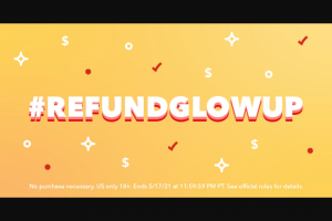 Intuit – Turbotax – #refundglowup Contest – Twitter/instagram – Win highest scores as determined by the panel in its sole discretion
