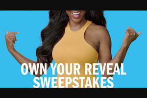 Iovate Health Sciences Hydroxycut – Own Your Reveal Sweepstakes