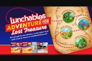 Kraft Heinz Foods – Lunchables Adventure For Lost Treasure Sweepstakes