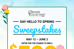 Ltd Commodities – Lakeside Say Hello To Spring – Win be awarded in increments of five single use $100 unique coupon codes emailed collectively to the Grand Prize Winner following successful notification