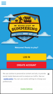 Mars Wrigley – Never Stop Summering  Sweepstakes