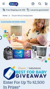 Mead Johnson Enfamil – Best For Baby Giveaway – Win be awarded each week during the  Period