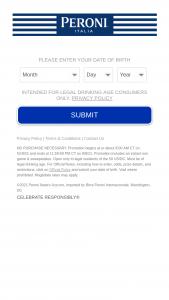 Molson Coors – Peroni Upgrade  – Win Card