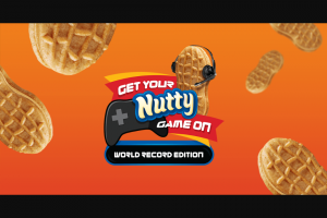Mondelez Global – Get Your Nutty Game On World Record Edition Sweepstakes