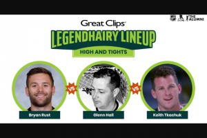 NHL – Great Clips Legendhairy Lineup Sweepstakes