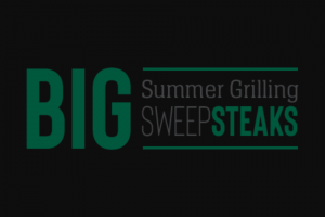 Omaha Steaks – Big Summer Grilling Sweep-Steaks – Win a prize package to include    One (1) Large Big Green Egg package