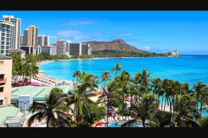 Omaze – Beach Vacation For 4 On The Hawaiian Island Of Your Choice – Win a 5 night
