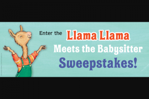 Penguin Random House – Llama Llama Meets The Babysitter Sweepstakes