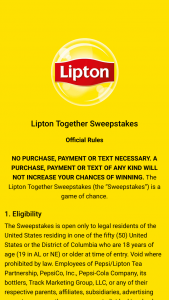 Pepsi – Lipton Together – Win one Amazon Echo Dot (3rd Gen) – Smart speaker with Alexa