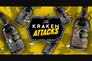 Proximo Spirits – Kraken Attacks – Win a trip for two (2) (winner and one (1) guest age twenty-one (21 or older) to Oahu