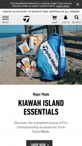 Taylormade – Collin Morikawa Autographed Championship Prize Pack Sweepstakes