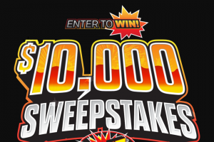 Tnt Fireworks – 2021 Ten Thousand Dollar – Win for the Sweepstakes is $10000.00.