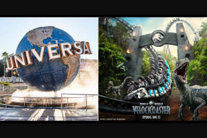 Today Show And Nbcuniversal Media – Universal Orlando Getaway – Win a four (4) day