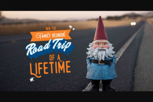 Travelocity And Thrifty Car Rental – Road Trip Of A Lifetime Contest Sweepstakes