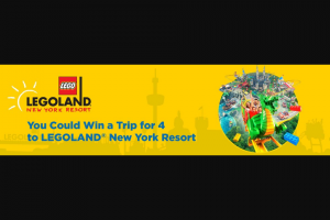 Valpak – Legoland New York Sweepstakes