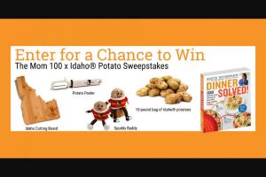 Workman Publishing – Mom 100 X Idaho Potato – Win One (1) copy of Dinner Solved