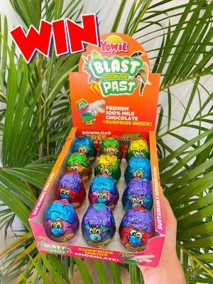 Yowie World – Win a box of new Blast from the Past Surprise-Inside chocolates