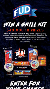 Bar-S Foods – Fud Summer Grill Kit Giveaway – Win one CharBroil 3 or 4 burner gas grill
