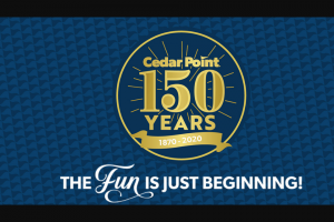 Cedar Point – Ticket Of A Lifetime In Park – Win one (1) VIP packet eligible for redemption on the day in which the prize was won