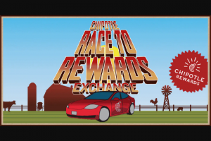 Chipotle – Race To Rewards Exchange Contest – Win of one standard 2021 Tesla Model 3 (MSRP $39 990.00).