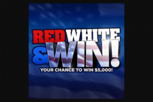 Cumulus Media Radio – Red White And Win Giveaway – Win a check in the amount of $5000).