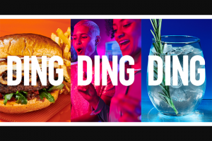 Dave & Buster's – Summer Of Ding Ding Ding – Win GRAND PRIZE A $5000 Dave & Buster's game card