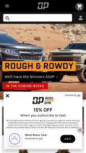 Diesel Power Gear – Ghost Giveaway – Win 2020 2020 GMC Sierra white (ARV of $82500 USD) and a one-way trip for the winner to Salt Lake City Utah to pick up the prize and meet the Diesel Power Crew