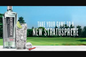 E & J Gallo – New Amsterdam Gin Golf Gear – Win consist of New Amsterdam branded Golf Gear