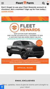 Fleet Farm – Big Truck Sweepstakes