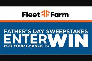 Fleet Farm – Father's Day Sweepstakes