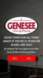 Genesee Brewing – Summer – Win cooler and one Genesee branded portable patio heater