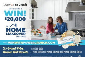 Iheartmedia – Power Crunch Home Makeover Sweepstakes