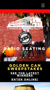 Ipswich Ale Brewery – Golden Can Sweepstakes
