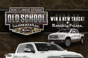 Landers Auto Group/drake Waterfowl – Old School – Win Drake Waterfowl or Landers Outdoor product to be determined by the Sponsor