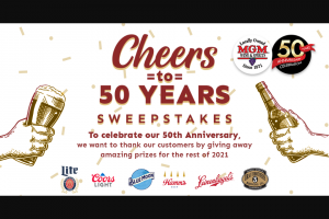 Mgm Wine & Spirits – Cheers To 50 Years Sweepstakes